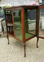 Lovely Victorian Mahogany Shop Display Cabinet (5 of 7)