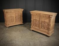 Stunning Pair of Raw Oak Side Cabinets (2 of 19)