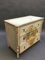 19th Century Painted Commode Chest of Drawers (2 of 12)