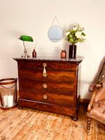 French Antique Drawers / Louis Philippe Commode / Mahogany Chest of Drawers (7 of 7)