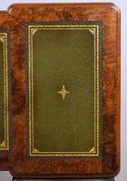 19th Century Victorian Burr Walnut Pedestal Desk (14 of 18)