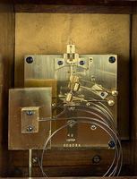 Fine Quality Burr Walnut Bracket / Mantel Clock By Lenzkirch (4 of 11)