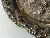 Early 20th Century Sheffield E.H.Parkin & Co Silver Plate Wine Coaster (3 of 9)