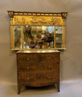 19th Century Large Gilt Overmantle Mirror (7 of 16)