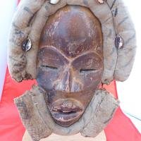 Genuine Antique  African Tribal Mask (2 of 3)