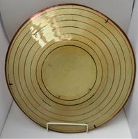Large 19th Century Spanish Copper Lustre Charger in Hispano-moresque Revival Style (6 of 7)