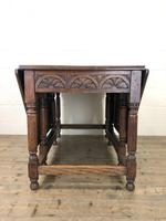 Early 20th Century Oak Gateleg Table (7 of 12)