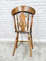 Set of 4 Windsor Lyreback Kitchen / Dining Chairs (4 of 6)