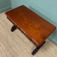 Quality Victorian Mahogany Antique Writing Library Table (3 of 6)