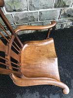 Antique Mahogany Windsor Style Country Armchair (7 of 7)