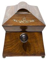 Beautiful Early 19th Century Mother of Pearl Tea Caddy (7 of 8)