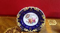 Pair of Ridgways Porcelain Decorated Botanical Plates (2 of 5)