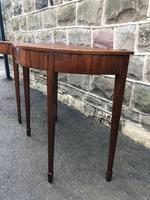 Pair Antique Mahogany Console Tables (7 of 9)