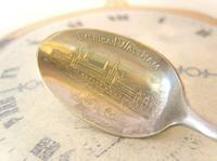 Antique American Waltham Watch Co Teaspoon 1890s Victorian Coin Silver Plated (2 of 10)