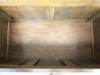 Vintage Carved Oak Blanket Box (6 of 10)