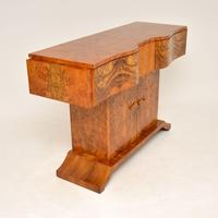 Art Deco Burr Walnut Console Table by Hille (9 of 12)