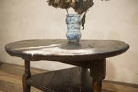 18th Century Oak Cricket Table (3 of 16)