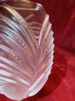 "Rare Lalique ""Palmier"" pattern vase designed by Marc Lalique (3 of 7)"