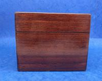 Victorian Rosewood Box with Mother of Pearl Inlay (9 of 11)