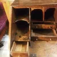 Early 18th Century Oak Bureau on Stand (4 of 7)