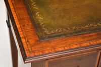 Antique Inlaid Mahogany Desk / Writing Table (6 of 13)