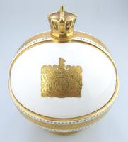 John Wadsworth : Limited Edition 1/600 Minton Orb Commemorate the Crowning of Qeii 1953 (4 of 9)