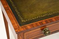 Antique Sheraton Period Inlaid Mahogany Writing Table Desk (9 of 11)
