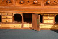 George III Sheraton Period Secretaire Cabinet (3 of 9)
