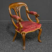 Set of Six Victorian Mahogany Chairs (11 of 13)