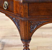 Victorian Walnut Library Table (4 of 9)