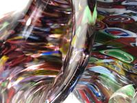 2 Italian Murano 20th Century Fratelli & Torso Millefiori Glass Vases (12 of 15)