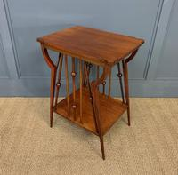 Arts & Crafts Walnut Occasional Table (4 of 6)