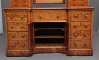 19th Century Satin Birch Dressing Table (6 of 14)