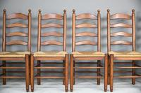 6 Ladderback Dining Chairs (3 of 11)