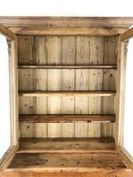 Antique Victorian Pine Dresser with Glazed Top (6 of 13)