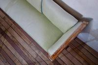 Elegant 18th Century Gustavian Dry Scraped Sofa Lindome c.1790 (8 of 14)