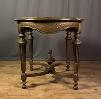 Napoleon III Giltwood Library or Sofa Table (8 of 13)
