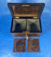 Victorian Tunbridge Ware Twin Section Tea Caddy (11 of 18)