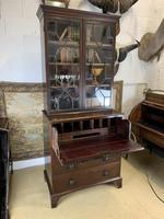 Victorian Mahogany Secrétaire Bookcase (5 of 8)