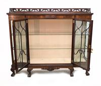 Antique Chippendale China Cabinet Mahogany Antique c.1910 (9 of 15)