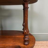 Quality Victorian Rosewood Antique Whatnot (2 of 9)