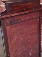 Edwardian Mahogany Wood Bedside Cabinet - Converted Purdonium (7 of 9)