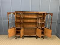 Shapland & Petter Burr Walnut Bookcase (3 of 23)