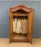 19th Century Burr Walnut Wardrobe (3 of 16)