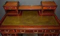 Mahogany Pedestal Desk (2 of 5)
