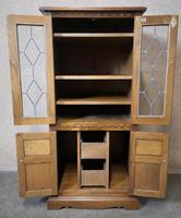 Wood Bros Old Charm Oak Hi Fi Cabinet (8 of 12)