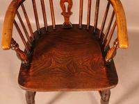 High Back Windsor Chair Ash & Elm Rockley Maker (8 of 8)