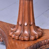 Antique Specimen Marble & Padouk Table (6 of 8)