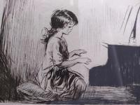 Piano Practise by Eileen Alice Soper Rms, SWLA (3 of 4)