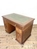 Small Antique Mahogany KneeHole Desk (7 of 9)